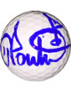 Ian Poulter signed Titleist Golf Ball (blue sig)- PGA Tour Hologram