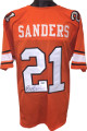 Barry Sanders signed Orange TB Custom Stitched College Football Jersey XL- Tri-Star Hologram
