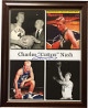 "Charles ""Cotton"" Nash signed Kentucky Wildcats 11x14 Photo (4 images) Custom Wood Framing"