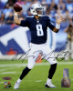 Marcus Mariota signed Tennessee Titans 8x10 Photo #8 (navy jersey)- Mariota & Tri-Star Holograms