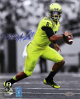 Marcus Mariota signed Oregon Ducks 8X10 Spotlight Photo #8- Mariota & Tri-Star Holograms (Heisman 2014)