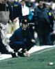 Lou Holtz signed Notre Dame Fighting Irish 16x20 Photo with Ken Regan- JSA Hologram #Q31383