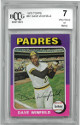 Dave Winfield 1975 Topps Baseball Card #61- BGS Graded 7 Very Good or Better (San Diego Padres)