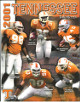 Tennessee Volunteers 2001 College Football Official Media Guide/Program- excellent condition