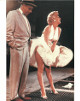 Marilyn Monroe unsigned 1954 Vintage Color 8x10 Poster Card/Photo (Subway Dress Scene)