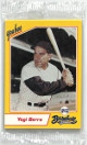 1993 Yoohoo Factory Sealed Series I Set-10 Cards- Yogi Berra Graig Nettles New York Yankees