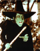 The Wizard of Oz Wicked Witch of the West Vintage Vintage Color 8x10 Photo (Margaret Hamilton)