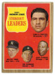 1962 AL Strikeout Leaders Topps Baseball Trading Card #59- Whitey Ford/Jim Bunning