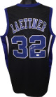 Christian Laettner signed Black Custom Stitched College Basketball The Shot Jersey XL- JSA Witnessed Hologram