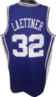 Christian Laettner signed Blue Custom Stitched College Basketball The Shot Jersey XL- JSA Witnessed Hologram