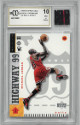 Michael Jordan Chicago Bulls 1998-99 Upper Deck #290 Basketball Card #290 H99 GU Jersey Swatch– BCCG 10 Mint