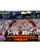 2015 World Cup Team USA Women's Soccer Signed 16x20 photo (8-sigs) Hat Trick 7/5/15 - Alyssa Naeher, Christine Rampone- Tri-Star