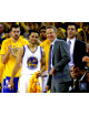 Steve Kerr signed Golden State Warriors 8x10 Photo (Coach with Stephen Curry)- Schwartz Hologram