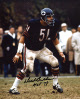 Dick Butkus signed Chicago Bears 8x10 Photo HOF 79- Tri-Star Hologram