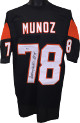 Anthony Munoz signed Black TB Custom Stitched Pro Style Football Jersey HOF 98 XL- Beckett Hologram #L34511