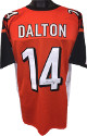 Andy Dalton signed Orange Custom Stitched Pro Style Football Jersey #14 XL- JSA Hologram #R48940