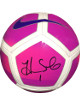 Hope Solo signed Nike Oficial Size 5 Pink Soccer Ball #1- JSA Witnessed Hologram (Olympics Team USA World Cup)