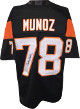 Anthony Munoz signed Black TB Custom Stitched Pro Style Football Jersey- JSA Witnessed Hologram