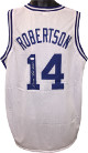 Oscar Robertson signed White TB Custom Stitched Pro Basketball Jersey XL- JSA Hologram