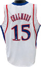 Mario Chalmers signed White Custom Stitched College Basketball Jersey #15 08 Champs XL- JSA Witnessed Hologram