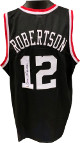 Oscar Robertson signed Black TB Custom Stitched College Basketball Jersey XL- PSA Witnessed Hologram
