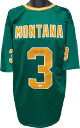 Joe Montana signed Green TB Custom Stitched College Football Jersey XL- JSA Witnessed Hologram