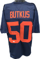 Dick Butkus signed Navy TB Custom Stitched College Football Jersey XL- JSA Witnessed Hologram