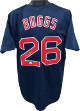 Wade Boggs signed Navy Custom Stitched Pro Style Baseball Jersey XL- JSA Witnessed Hologram