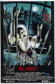 Linda Blair signed Hell Night 11x17 Movie Poster- Tri-Star Hologram