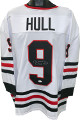 Bobby Hull signed White TB Custom Stitched Pro Hockey Jersey XL- JSA Witnessed Hologram