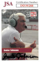 Junior Johnson signed NASCAR 1991 Pro Set Racing Trading Card #34- JSA Hologram #DD39288