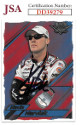 Kevin Harvick signed NASCAR 2003 Wheels High Gear Racing Trading Card #12- JSA Hologram #DD39279