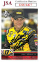 Matt Kenseth signed NASCAR 2006 Press Pass Racing Trading Card #13- JSA Hologram #DD39277