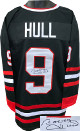 Bobby Hull signed Black TB Custom Stitched Pro Hockey Jersey XL- JSA Hologram