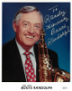 Boots Randolph signed Mr. Sax 8x10 Photo To Randy- JSA Hologram #DD32787