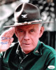 Harry Morgan signed M*A*S*H 8x10 Photo To Cindy All the Best! (Colonel Sherman T. Potter)- JSA Hologram #DD32789
