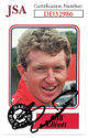 Bill Elliott signed NASCAR 1988 Maxx Charlotte Racing Trading Card #50- JSA Hologram #DD32986