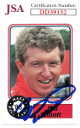 Bill Elliott signed NASCAR 1988 Maxx Charlotte Racing Trading Card #50- JSA Hologram #DD39132