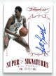 Bill Russell signed Boston Celtics 2013-14 Panini Flawless Super Signatures Basketball Card- LTD 9/15- SS-BR