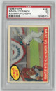 Mickey Mantle New York Yankees 1959 Topps Hits 42nd Homer for Crown Baseball Card #461- PSA Graded 5 Excellent
