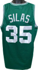 Paul Silas signed Green TB Custom Stitched Basketball Jersey XL- JSA Witnessed Hologram #WP350802