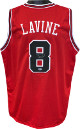 Zack LaVine signed Chicago Bulls Red Custom Stitched Pro Basketball Jersey XL- Beckett Hologram #J14573