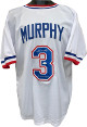 Dale Murphy signed White TB Custom Stitched Baseball Jersey NL MVP 82, 83 XL- JSA Witnessed Hologram