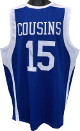 Demarcus Cousins signed Kentucky Wildcats Blue Custom Stitched College Basketball Jersey XL- JSA Witnessed Hologram