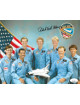 "Robert ""Hoot"" Gibson signed NASA Astronaut Pilot 8x10 Photo- JSA Hologram #DD39381"