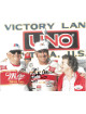 Bobby Allison signed NASCAR Victory Lane 8x10 Photo- JSA Hologram #DD39380