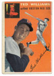 Ted Williams Boston Red Sox 1954 Topps Baseball Trading Card #1