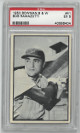 Bob Ramazotti Chicago Cubs 1953 Bowman B&W Baseball Card #41- PSA Graded 5 Excellent