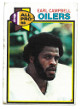 Earl Campbell Houston Oilers 1979 Topps Football Rookie Trading Card #390