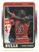 Michael Jordan Chicago Bulls 1988-89 Fleer Basketball Card #17